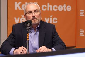 Petr Dufek, foto: Jana Přinosilová, archiv ČRo