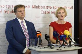 Jan Kněžínek, Andrea Matoušková, photo: ČTK/Kateřina Šulová