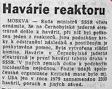Svobodné Slovo, April 29, 1986