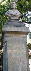 The statue of Josef Dobrovsky
