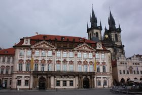 The Kinský Palace in Prague