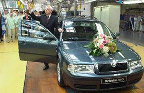 Octavia Nro 1 millón, foto: CTK