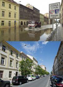 Hochwasser in Prag (Foto: ČTK)