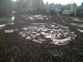 Arabischer Frühling in Kairo (Foto: Mona, CC BY 2.0)