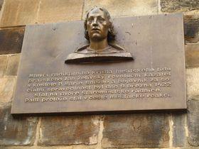 Busta Jana Želivského, který byl popraven tři roky po defenestraci, foto: Kristýna Maková, archiv ČRo - Radia Praha
