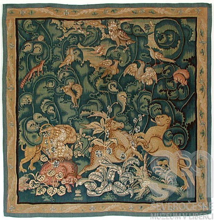 L'une des tapisseries du musée de Liberec, photo: Musée de Liberec/eSbírky, Musée national