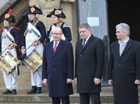 Bohuslav Sobotka, Robert Fico, Werner Faymann, photo: CTK