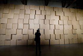Zimoun: Hauch Gallery, фото: ЧТК / Вит Шиманек
