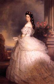 Франц Ксавер Винтерхальтер, портрет императрицы Елизаветы Баварской (1865), фото: открытый источник
