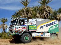 Tatra truck in the Paris to Dakar Rally , photo: CTK