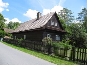 Lidová architektura - Rusava, foto: Palickap, CC BY-SA 3.0 Unported