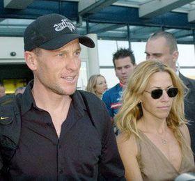 Lance Armstrong se svou přítelkyní Sheryl Crow, foto: ČTK