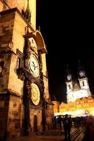 El Reloj astronómico de Praga, foto: Štěpánka Budková