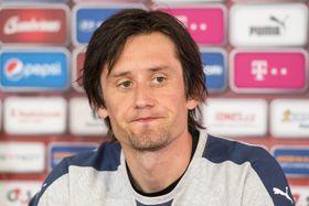 Капитан чешской сборной Томаш Росицки, Фото: ЧТК