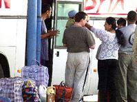 Romové na cestě do Británie, Foto: ČTK