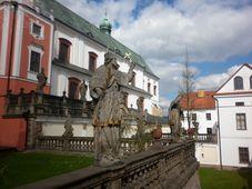 El monasterio de Broumov, foto: Zdeňka Kuchyňová