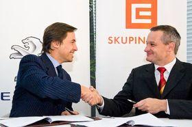 Peugeot et ČEZ viennent de signer un accord de Partenariat, photo: www.hybrid.cz