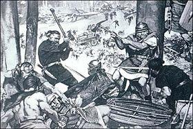 Marobudo y los romanos