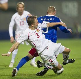 Le deuxième but a été inscrit par Václav Kadlec, photo: CTK