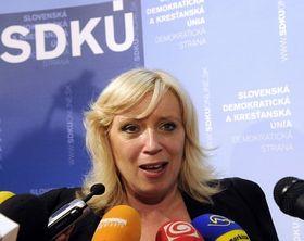 Iveta Radičová, photo: CTK