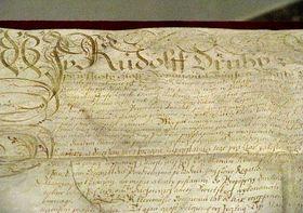 Majestätsbrief (Foto: Martina Bílá)