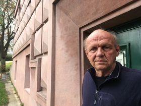 Jan Šesták at the Kounic dormitories, photo: Ian Willoughby
