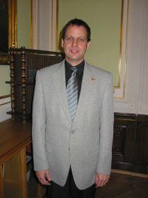 Presidente del Instituto de Parasitología, Tomás Scholz