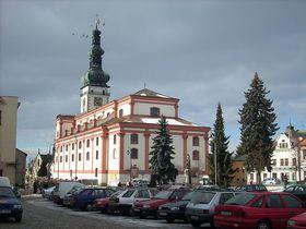 La cathédrale de l'Assomption de la Vierge Marie, photo: Jana Lánová, CC BY-SA 3.0 Unported