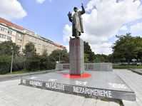 Prague's statue of Soviet Marshal Ivan Konev, photo: ČTK / Vít Šimánek