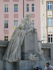 Tyl-Denkmal (Foto: Martina Schneibergová)