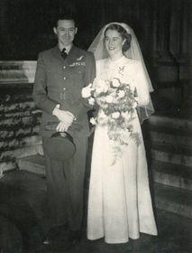 Hana Ludikar's wedding, photo: Archive of Miroslav Krupička