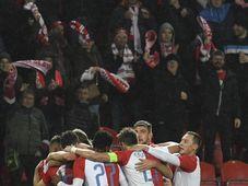 Slavia Prague - Dynamo České Budějovice, photo: ČTK/Krumphanzl Michal
