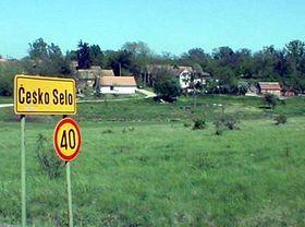 Ein tschechisches Dorf im rumänischen Banat