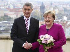 Andrej Babiš und Angela Merkel (Foto: ČTK / Roman Vondrouš)