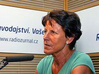 Jarmila Kratochvílová, photo: Anna Duchková