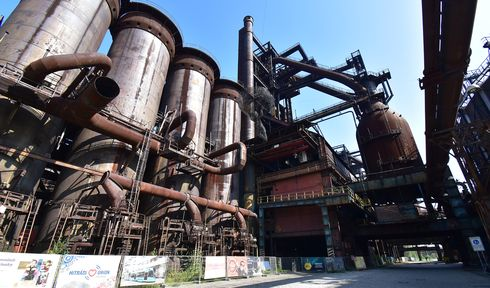 L'ancien site industriel de Dolní Vítkovice, photo: Ondřej Tomšů