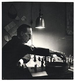 Marcel Duchamp, photo: Kay Bell Reynal, Smithsonian Institution, Archives of American Art