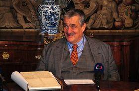 Czech Foreign Minister Karel Schwarzenberg, photo: Robert Janás, Ministry of Foreign Affairs archive