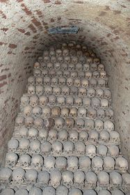 Ossuary in Brno, photo: Kirk, CC BY-SA 3.0 Unported