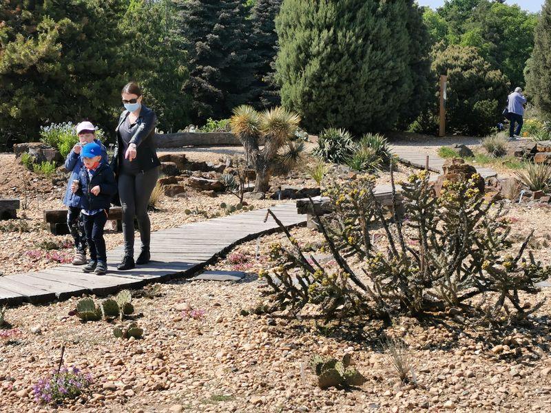 Venkovní expozice Botanické zahrady hl. m. Prahy, foto: Klára Stejskalová