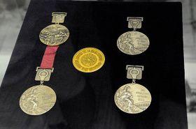 Medaile Věry Čáslavské zolympiády vMexiku, foto: Khalil Baalbaki