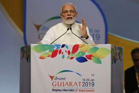 Narendra Modi (Foto: ČTK / AP Photo / Ajit Solanki)