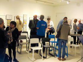 Vernissage im Erika-Fuchs-Haus (Foto: Maria Hammerich-Maier)