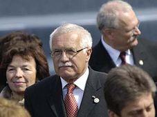 Český prezident Václav Klaus na oslavách konce druhé světové války v Moskvě, foto: ČTK