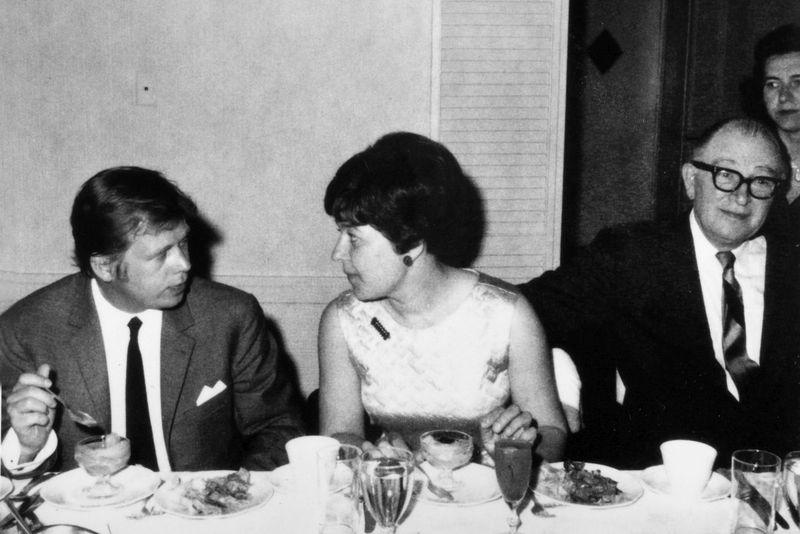 Встреча Яны Канской с Вацлавом Гавелом, Вашингтон, 1968 г. Фото: Archiv Jany Kánské