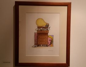 James Warhola: Cats enjoy the Wig, foto: Miroslav Krupička / Český rozhlas - Radio Praha