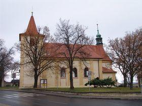 Kostel sv. Václava, Stochov, foto: Miloš Turek