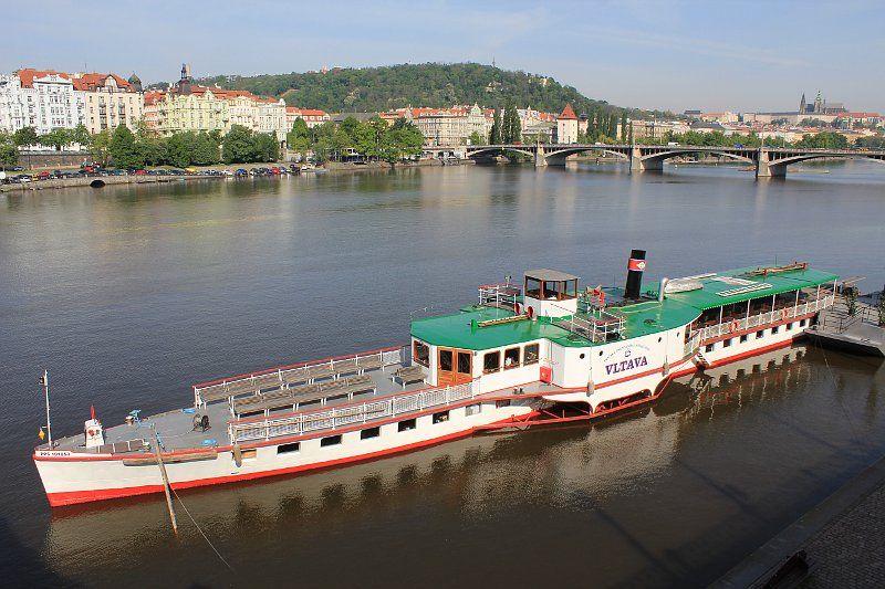 Mit dem Dampfer die Moldau entlang: 150 Jahre Schifffahrt in
