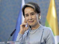 Aung San Suu Kyi, photo: ČTK/Michaela Říhová