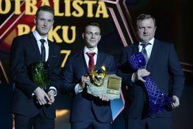 Jakub Jankto, Vladimír Darida, Pavel Vrba, photo: ČTK